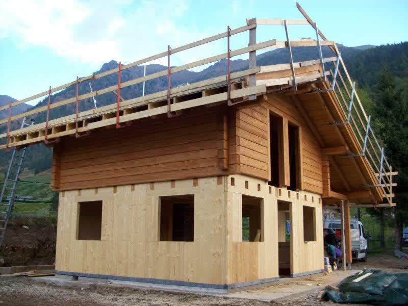 Lli battisti - case in legno - casa al grezzo