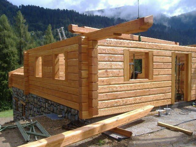 Baita di montagna carpenteria battisti torcegno trentino for Disegni di baite