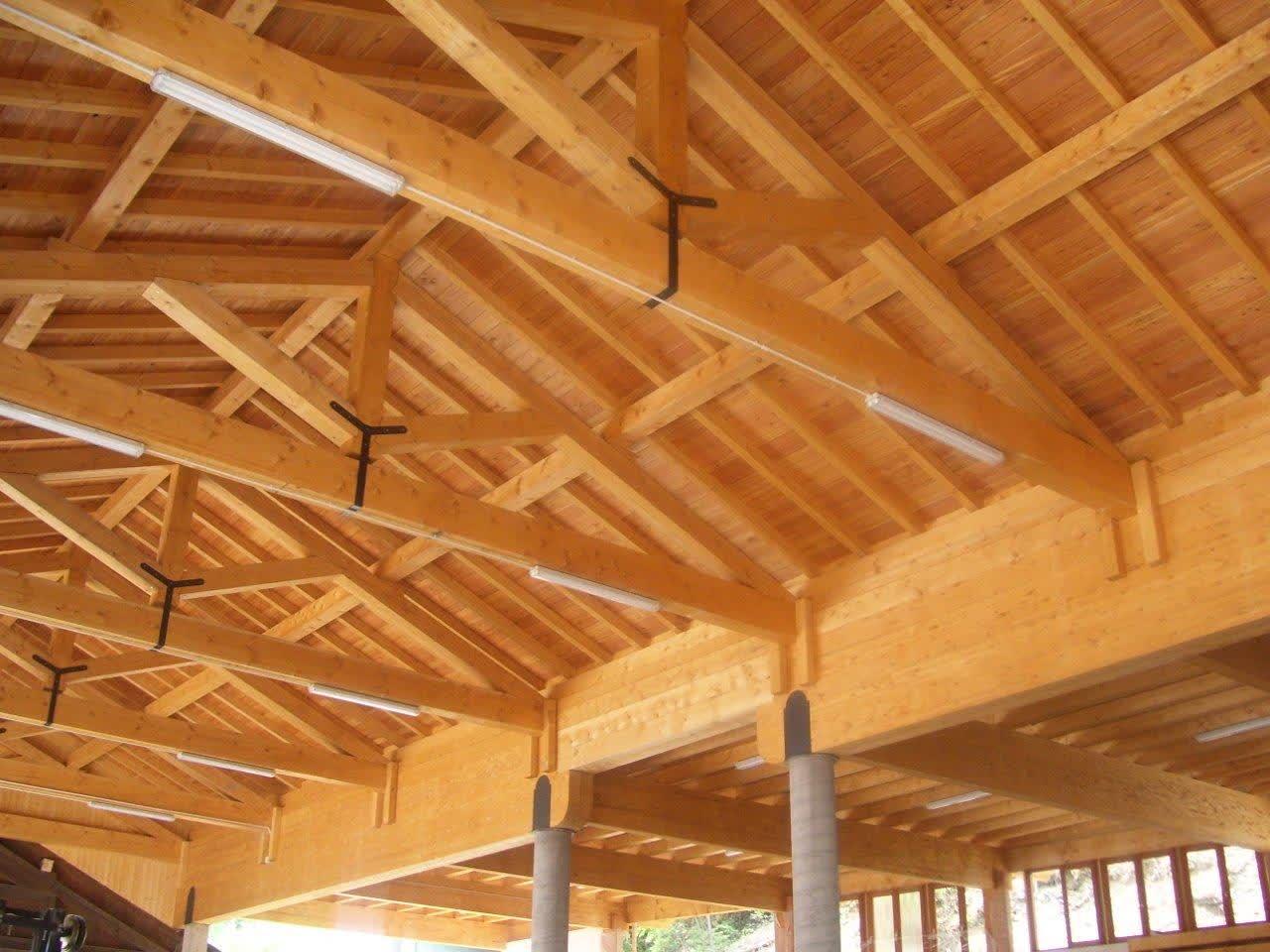 capannone artigianale realizzato a Torcegno (TN)