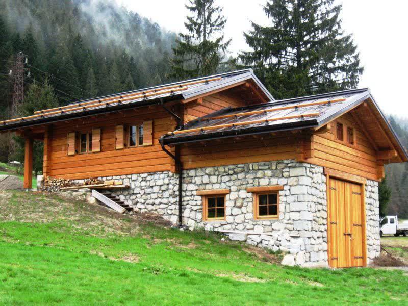 Alcune nostre realizzazioni di edifici in legno for Immagini di case di montagna