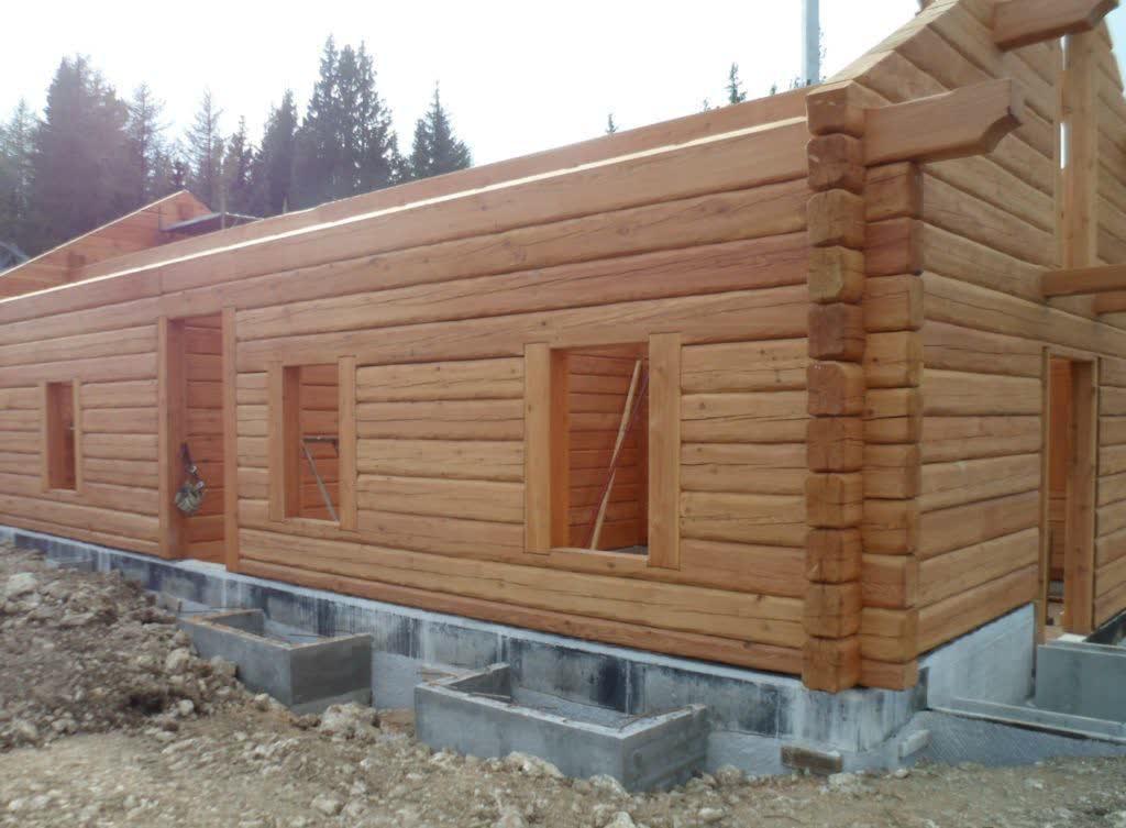 Costruire casa legno una casa di legno che si pu - Costo costruzione casa al grezzo ...